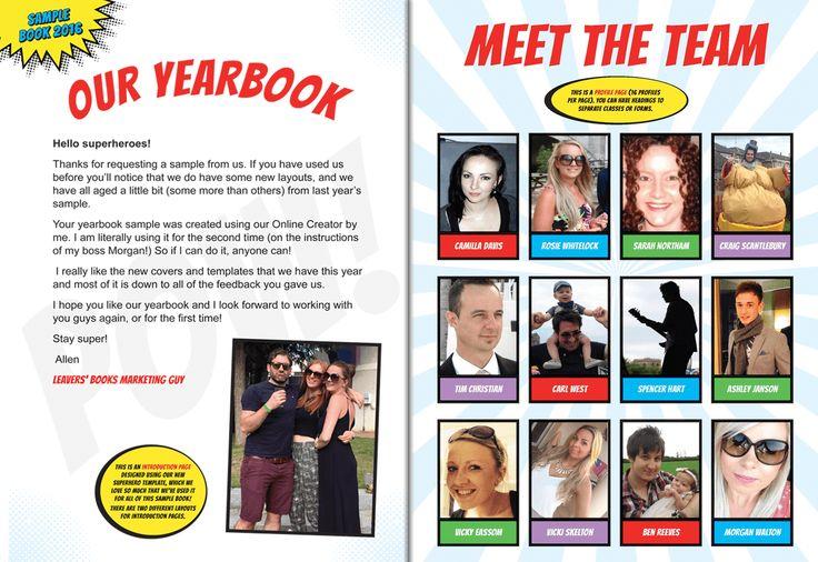 31 best School leavers book images on Pinterest Yearbooks, School - sample yearbook