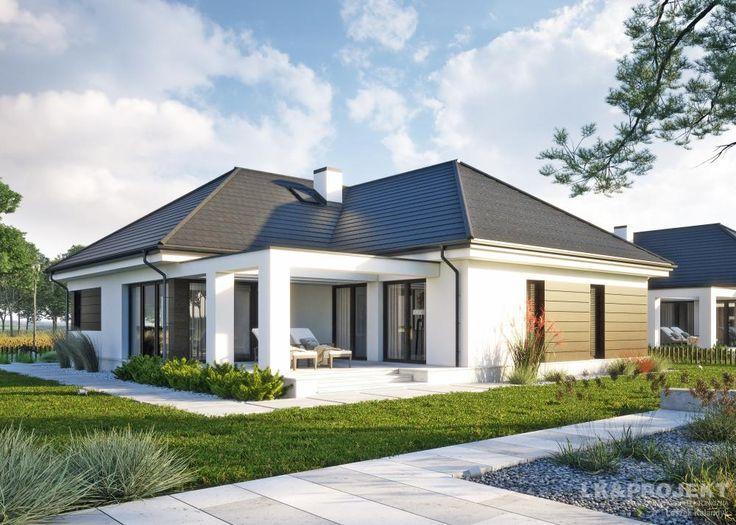 Projekty domów LK Projekt LK&1332 zdjęcie wiodące