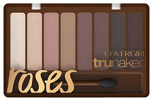 CoverGirl truNaked Eyeshadow, Roses - new for Spring 2016