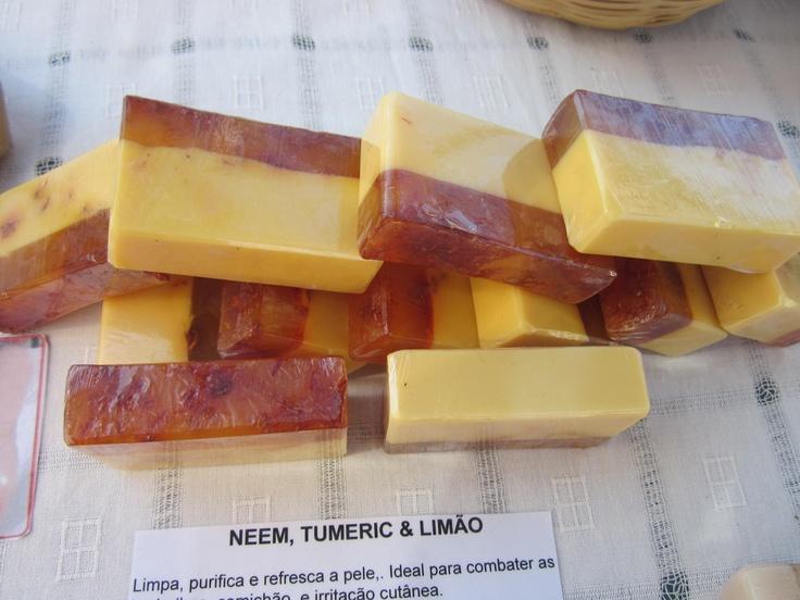Neem, Tumeric & Saffron soaps