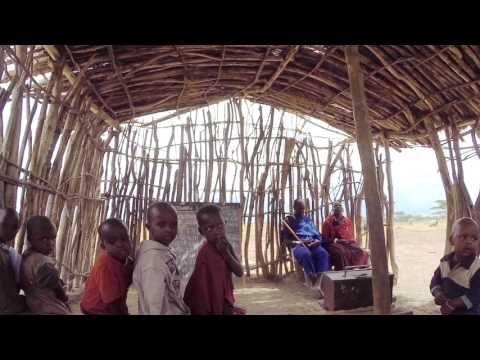 Путешествие в Африку.  Масаи
