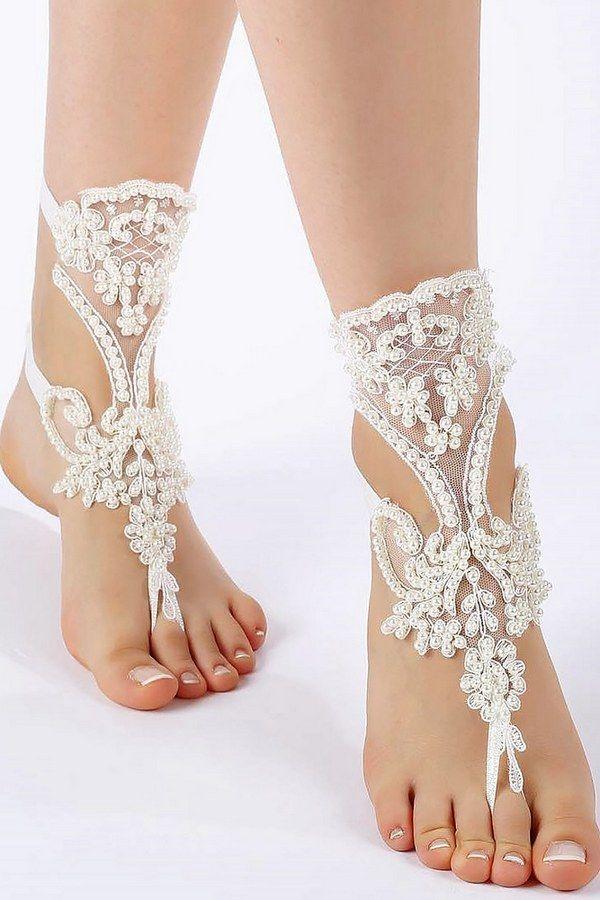 Best 25 beach wedding shoes ideas on pinterest beach wedding barefoot sandals for your beach wedding shoes junglespirit Choice Image