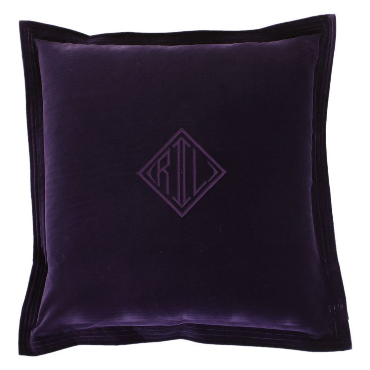Ralph Lauren Throw Pillow Covers : Best 25+ Purple cushion covers ideas on Pinterest Pink cushion covers, Homemade cushion covers ...