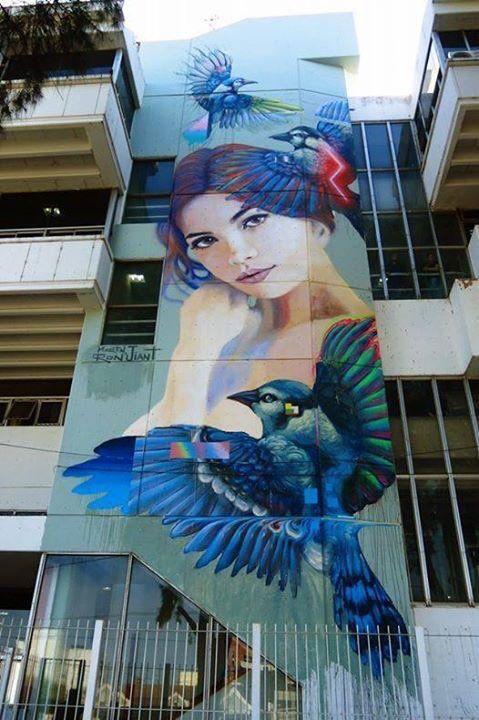 Buenos Aires, Argentina   Artist: @martinronmural - [Embedded image]