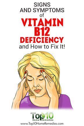 Signs and Symptoms of Vitamin B12 Deficiency and How to Fix It! #vitamins #animals #vitaminB #followback #F4F