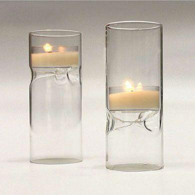 Blown Glass Mini Tealight Holder (Pack of 4)