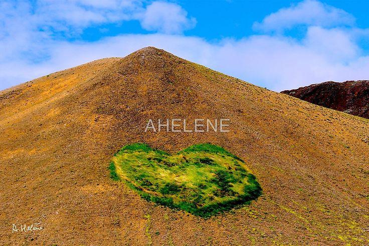 Volcanic heart