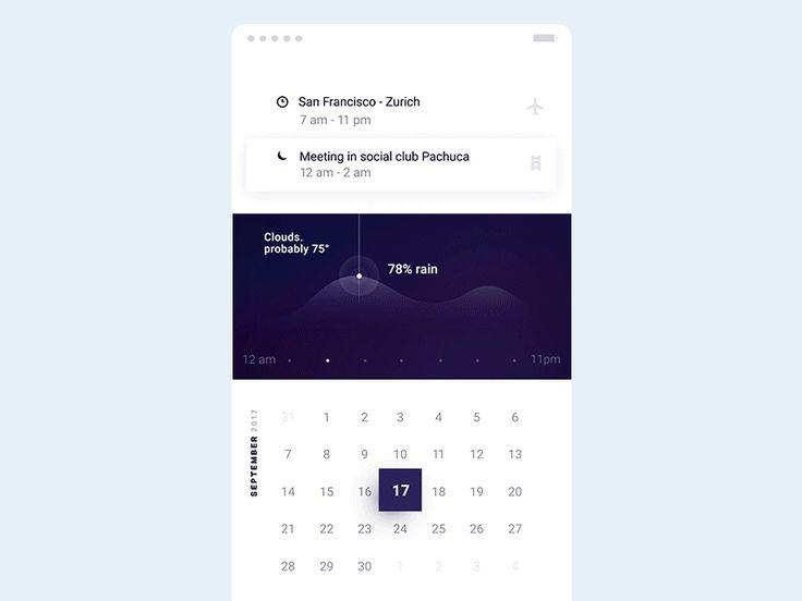 UI Interactions of the week #81 – Muzli -Design Inspiration