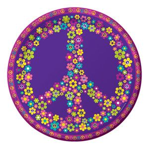 20425687 - Dinner Plates - Groovy Girl Groovy Girl Party Dinner Plates (23cm) Paper - Pack of 8  Please note: approx. 14 day delivery