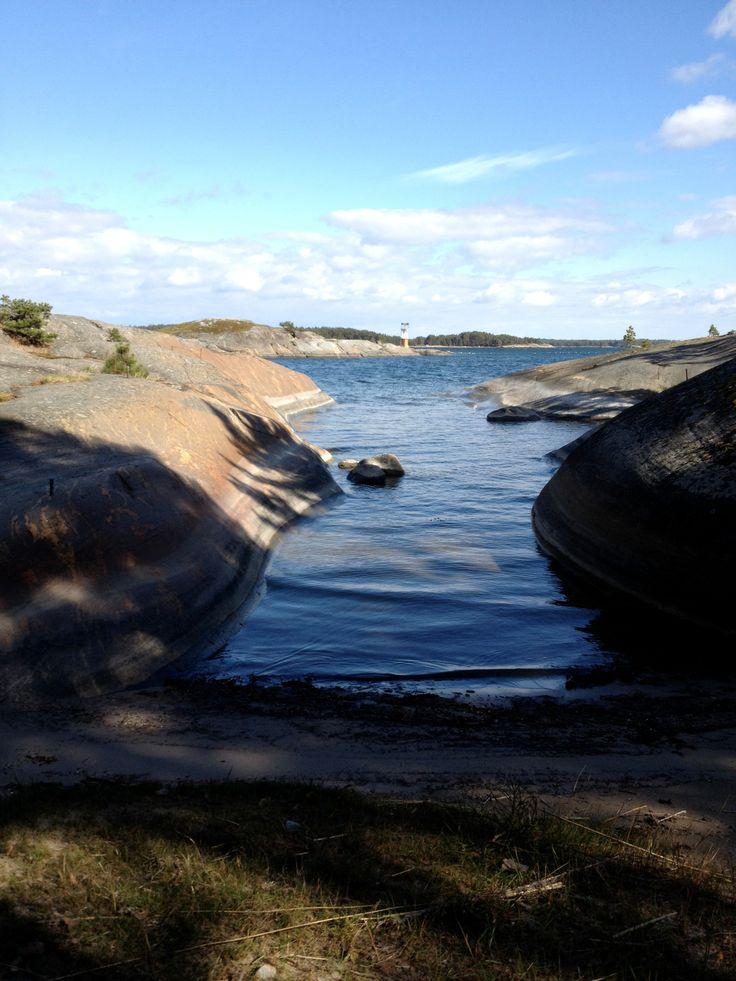 Almas strand in Korppoo is an island located in the Turku archipelago, Finland.