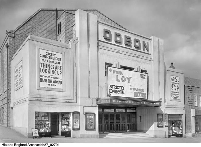 BB87/02791  Odeon Cinema, Central Road, Worcester Park, Greater London Authority.  Date1930 - 1939.  Please click for more information or to search our collections.