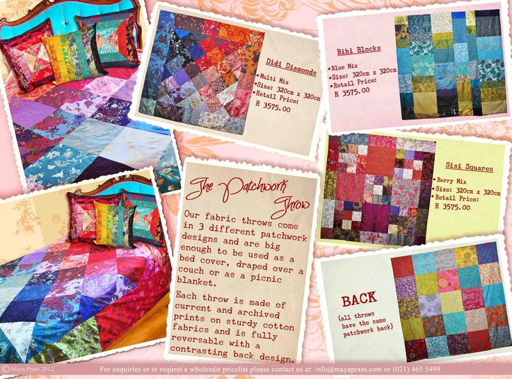 The patchwork Throw