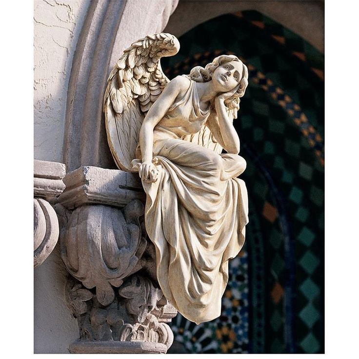 Die Besten 25+ Outdoor Angel Statues Ideen Auf Pinterest   Designer  Holzmobel Skulptur
