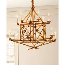 asian bamboo chandelier - Google Search