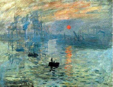 Impresión, Sol naciente by Monet