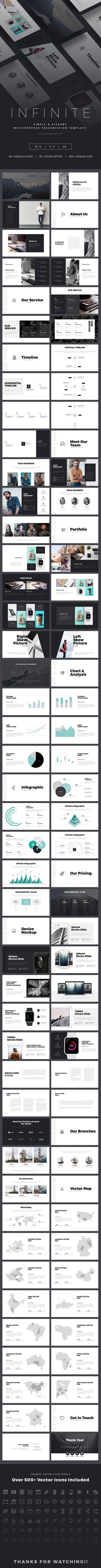 Infinite Powerpoint — Powerpoint PPTX #corporate presentation #analytical presentation • Download ➝ https://graphicriver.net/item/infinite-powerpoint/19128622?ref=pxcr