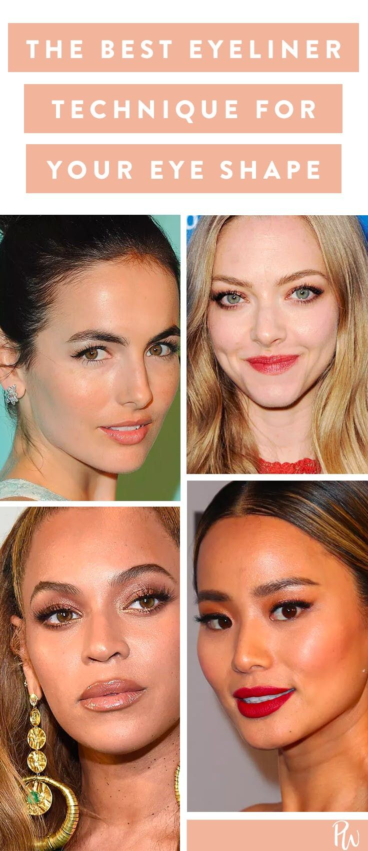The Most Flattering Eyeliner Technique for Your Eye Shape #purewow #eyes #eyeliner #makeup #trick #tip #beauty