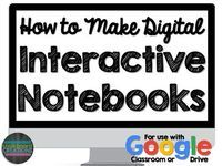 How to Make Digital Interactive Notebooks