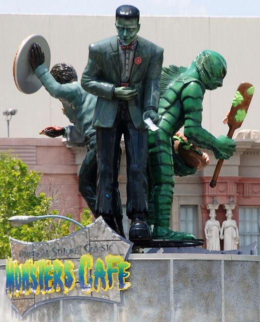 Monster Cafe | Universal Studios, Orlando,