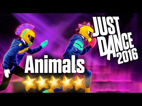Just Dance 2016 - Animals - 5 stars - YouTube