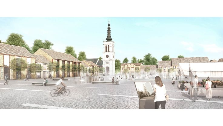Revitalization of Uniejow_Concept Master Plan Competition // A.A.V.V.