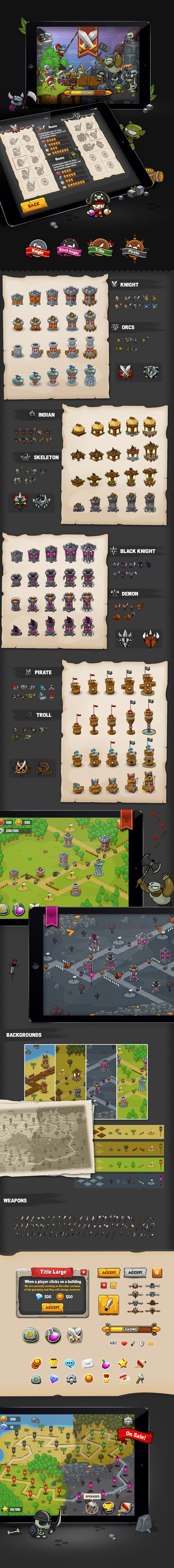 Tower Defense - Game on Behance