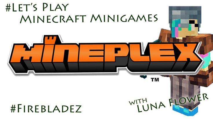 Let's Play Minecraft Minigames, Mineplex Block Hunt