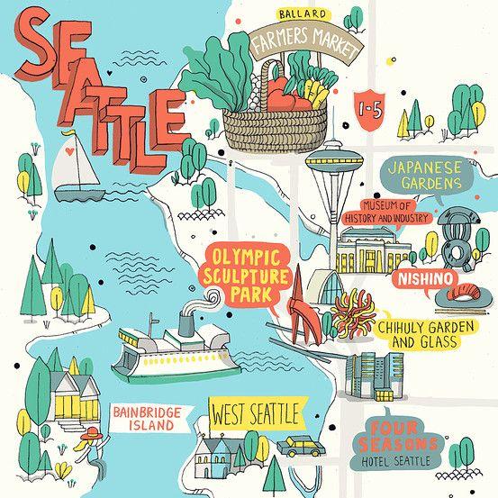 So many great ideas on this list!  A Splendid Long Weekend in Seattle - WSJ