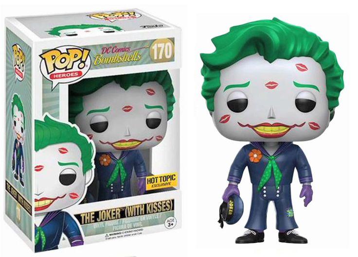 Pop! Heroes - DC Comics Bombshells - The Joker (with Kisses)