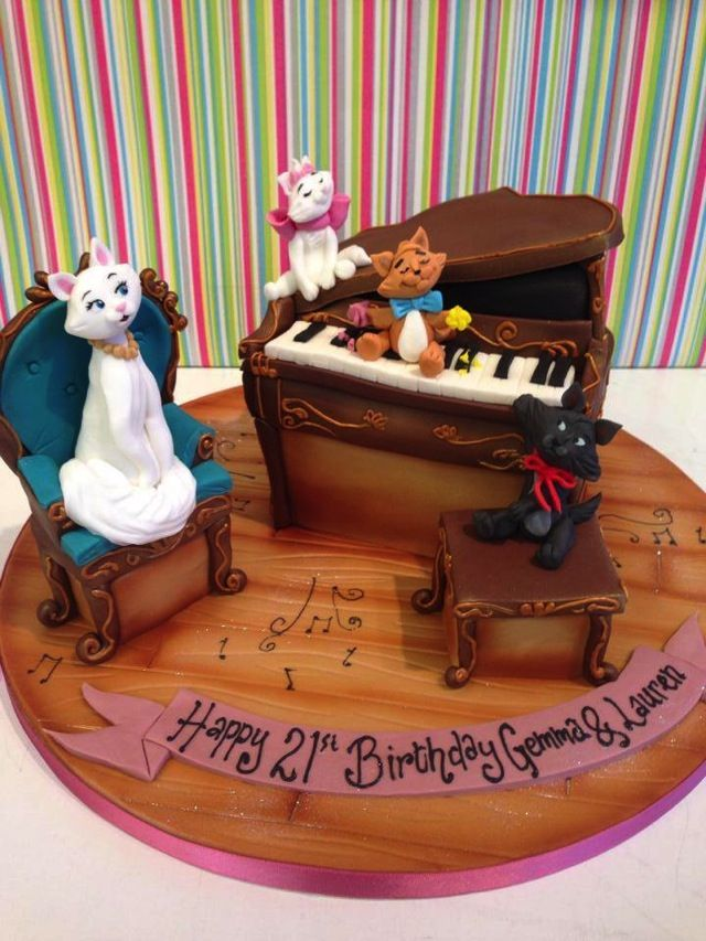Aristocats Cakes Awesome Aristocats Cake Was Made By