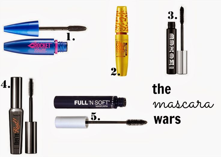 my new favorite mascara {and the runners-up} - Camp Patton