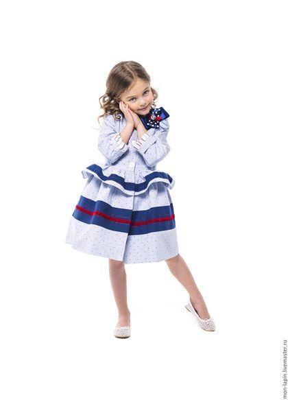 юбки с оборкой для девочки 8 лет
