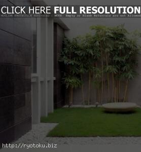 desain taman minimalis di dalam rumah 020