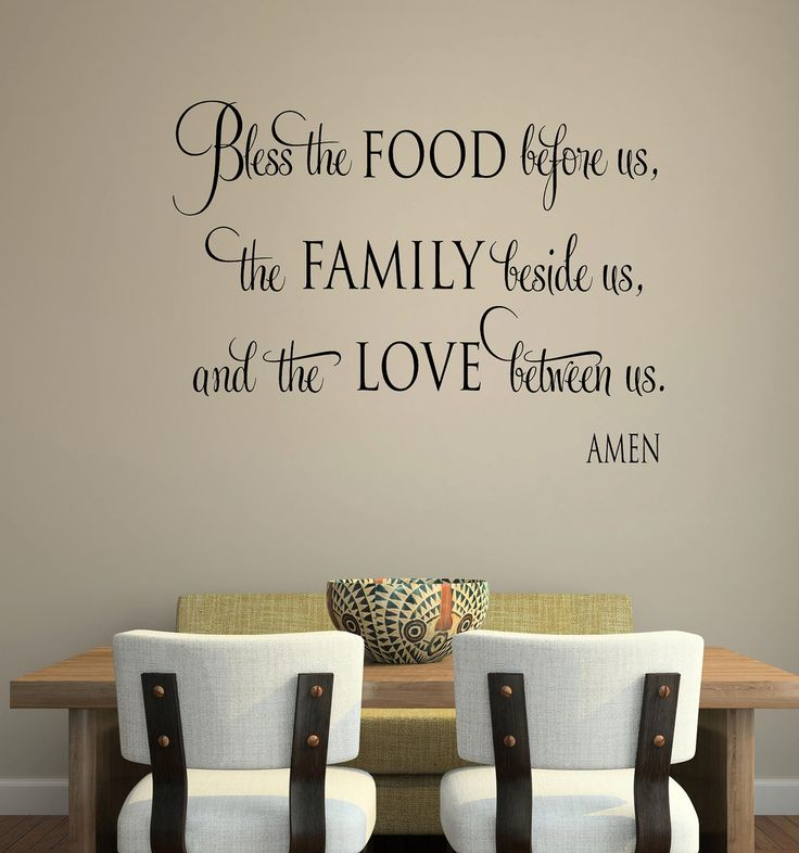 Bless the food before us faith-Vinyl by itswritteninvinyl on Etsy