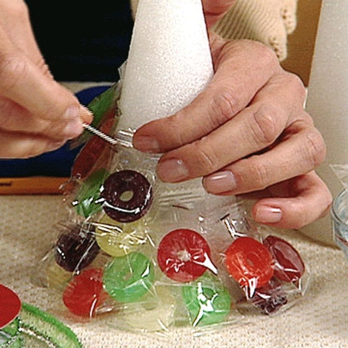 how to make a candy tree