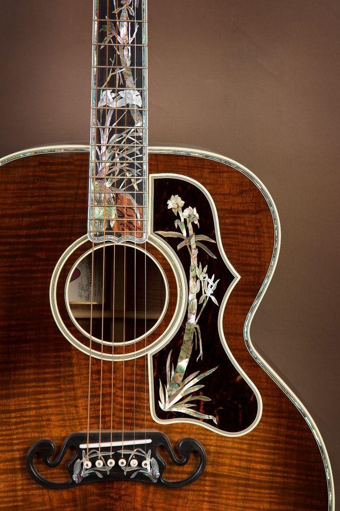 Gibson SJ-200 Koa Master Museum Custom Acoustic Guitar! J-200 #Gibson