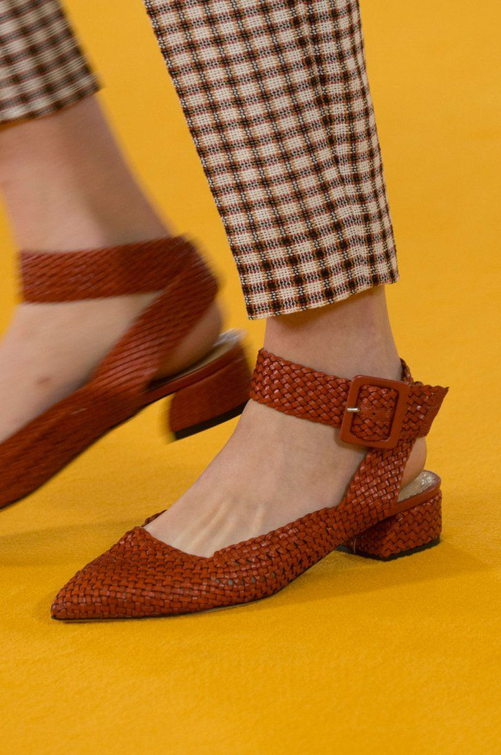 Prepare to Take Some Style Risks After Seeing the Genius Shoes at London Fashion Week Emilia Wickstead Spring '17