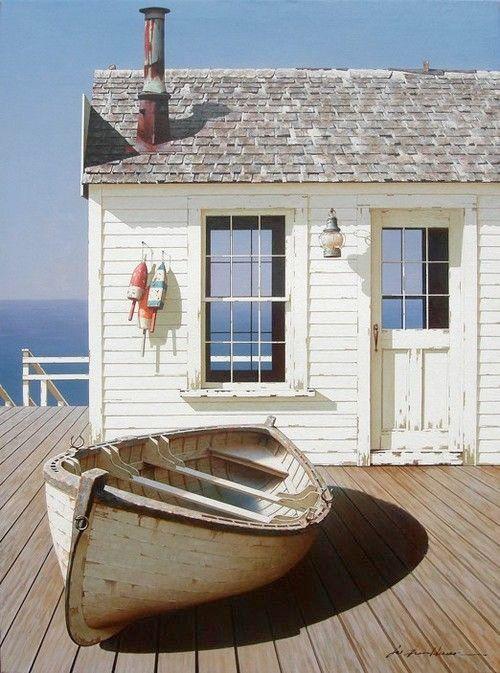 Låt sommaren gå i marin New Englandstil– känslan fångad i 30 bilder - Sköna hem