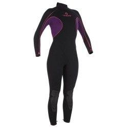 BPG Plongee Plongée, Snorkeling - Combinaison de plongée SUBEA Femme 3mm TRIBORD - Plongée, Snorkeling