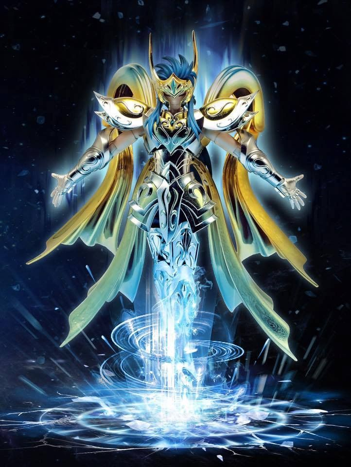 Camus de Acuario armadura Divina