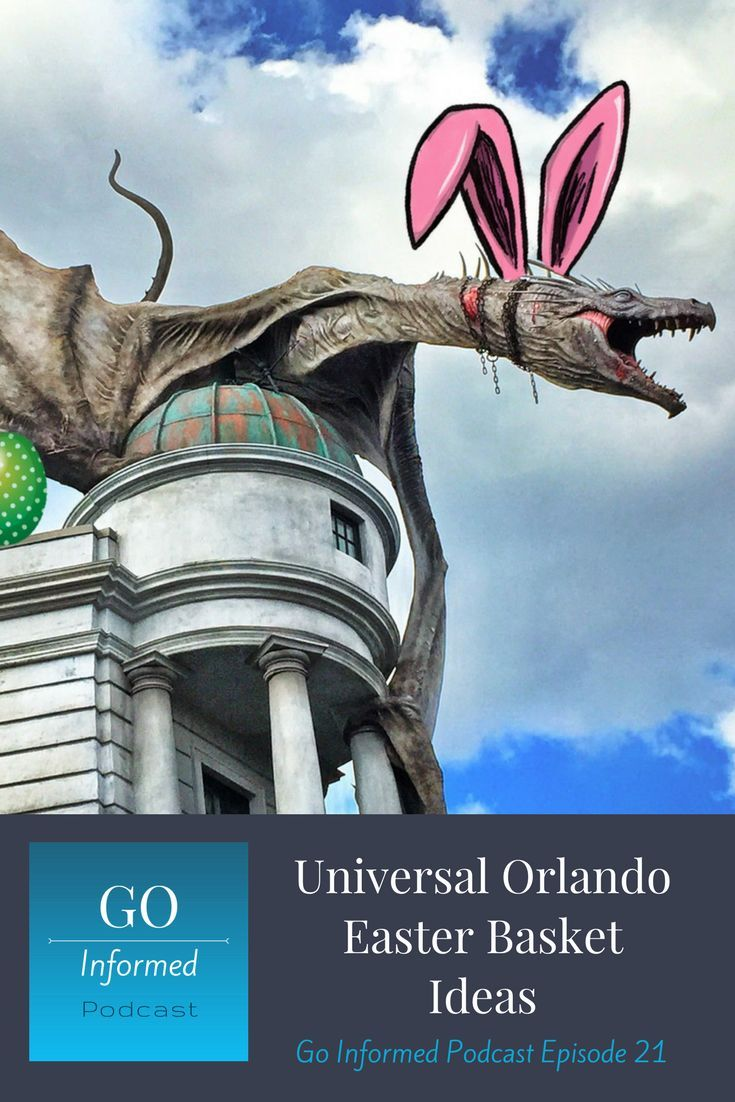 What to put in a Universal Orlando themed Easter Basket. Perfect for Easter at Universal or to bring the parks home. #universal #universalstudios #universalorlando #easter #giftidea #easterbasket via @goinformednet