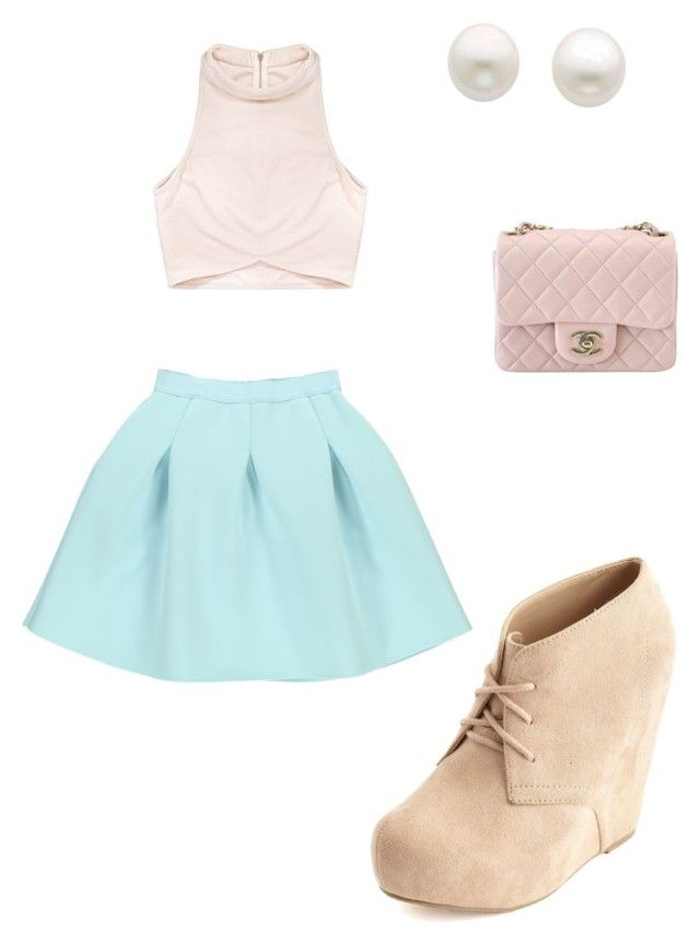 Untitled #19 by abby-mercier on Polyvore featuring polyvore, fashion, style, Rituals, Charlotte Russe, Chanel and Reeds Jewelers