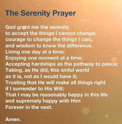 The serenity prayer is one of the most famous and powerful of Christian Prayers.  Read the prayer and submit a prayer request.