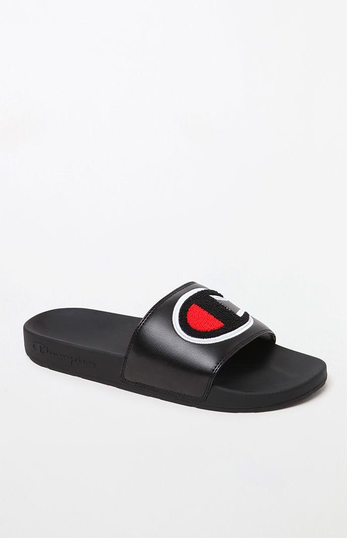 Sandalias de diapositivas ipo chenille para hombre campeón