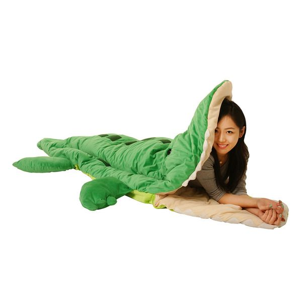 Palligator Sleeping Bag by Patch Together // fun!! Glad it's not a real alligator... #productdesign