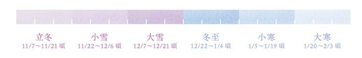 二十四節気 七十二候カレンダー|暦生活