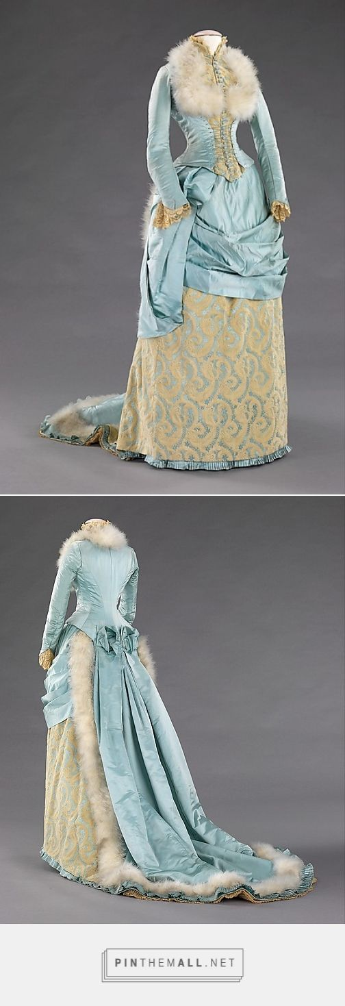 Evening dress by R. H. White & Co. 1885 American | The Metropolitan Museum of Art