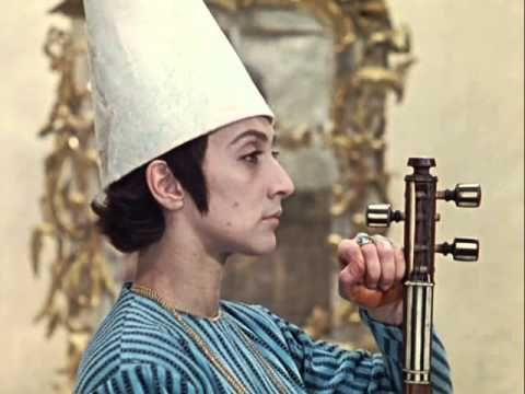 """THE COLOR OF POMEGRANATE, Sergei Parajanov: """"I was against posting the original film [Armenian] due to lack of ENGLISH. However, do like I with ZOU ZOU, and place yourself in a foreign land for a long time. I had picked up ques in FRENCH quickly, for I have a desire to speak, and to understand what is being said."""" -Asha"""