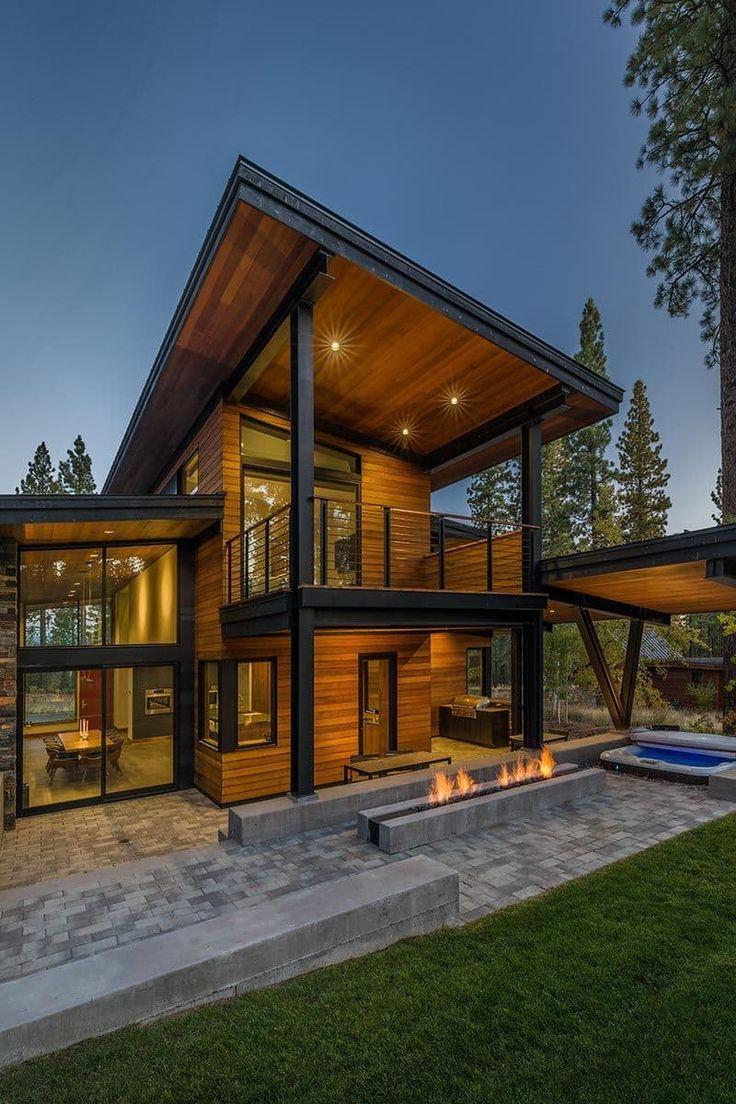 нового коттеджа фото деревянные домики современные съемка осуществляется целью