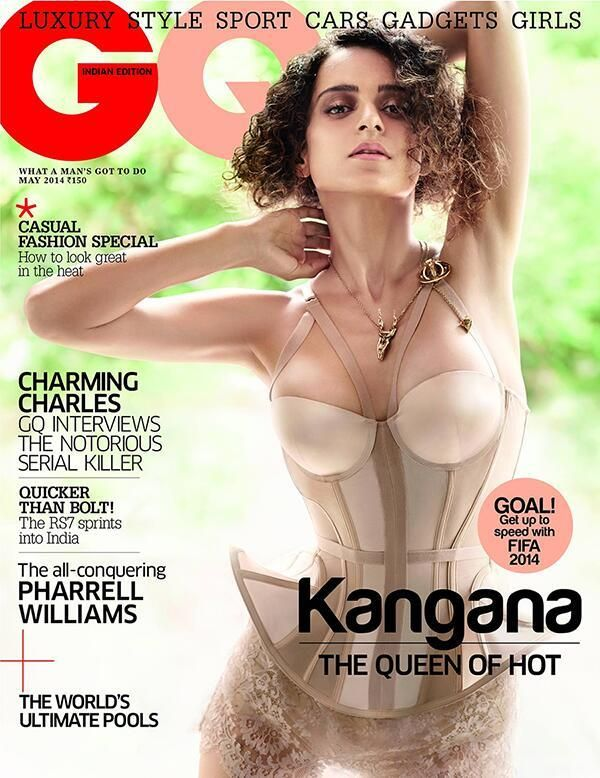 'Queen' Kangana sizzles on GQ cover | PINKVILLA